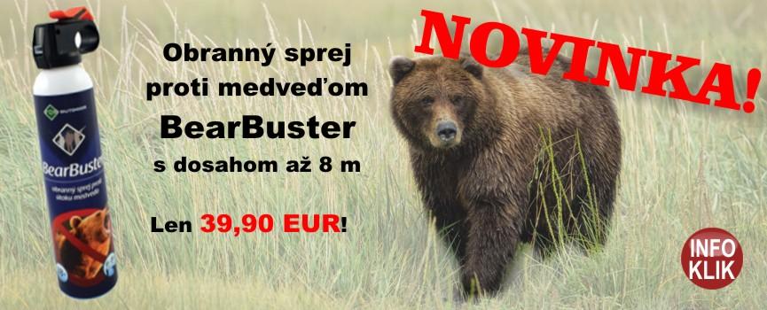 akcia sprej proti medvedom