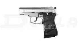 Plynová pištoľ Zoraki 914 Auto (9 mm, lesklý chróm)