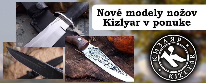 Lovecké nože Kizlyar
