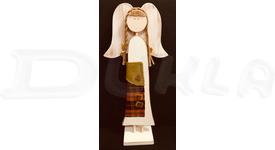 Anjel drevený textilný 57 cm No.13