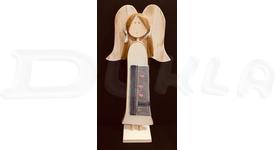 Anjel drevený textilný 57 cm No.17