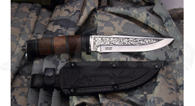Lovecký nôž Kizlyar SH-5 umelecký