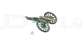 Miniatúrny kovový kanón Vojna Sever proti Juhu
