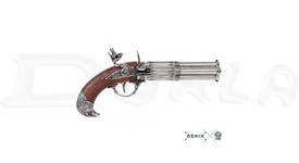 Replika Štvorhlavňová pištoľ, Francúzsko 18. stor.