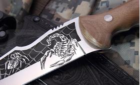 Lovecký nôž Kizlyar Skorpion M
