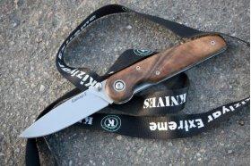 Zatvárací nôž NSK Bajker 2 drevo