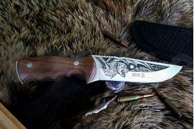 Lovecký nôž Kizlyar Khazar Lion