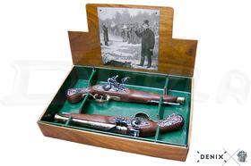 Replika Anglické súbojové pištole z 18. stor.