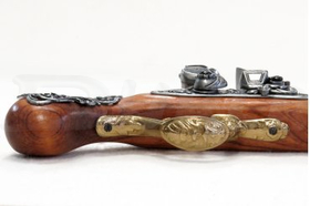 Anglická kresadlová pištoľ (18. stor.)