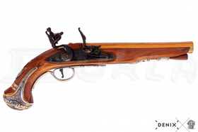 Replika Pištoľ George Washingtona, 18. stor.