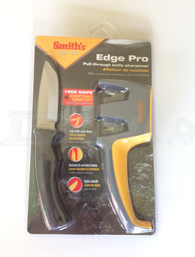 SMITH'S Brúska Edge Pro Pull-Thru Knife + nôž